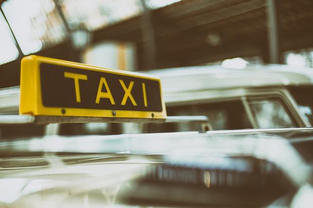 označení taxika